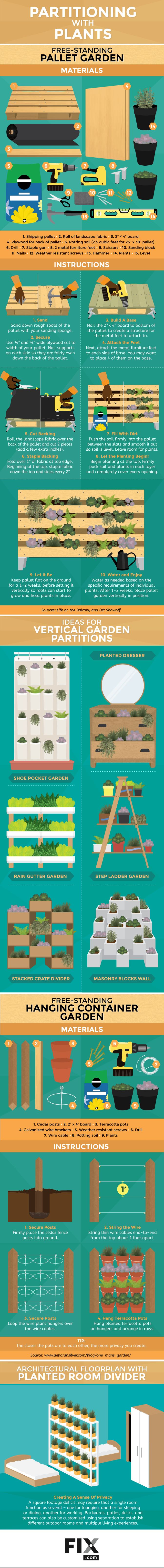 These are such great ideas on how to create vertical gardens. I've been thinking about creating a vertical garden in my backyard and this is just perfect.