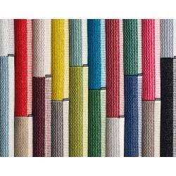 pappelina Mono Outdoor-Teppich - nebelblau / eisblau 85 x 160cm Pappelina