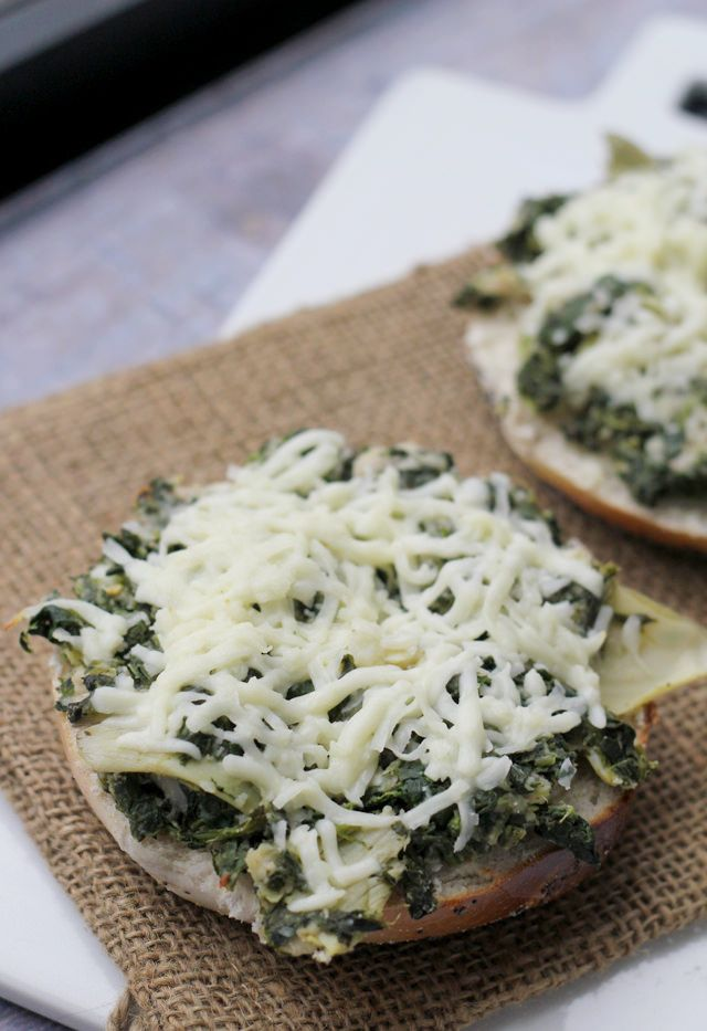 Spinach, Artichoke and White Bean Grilled Cheese | Recipe | White ...
