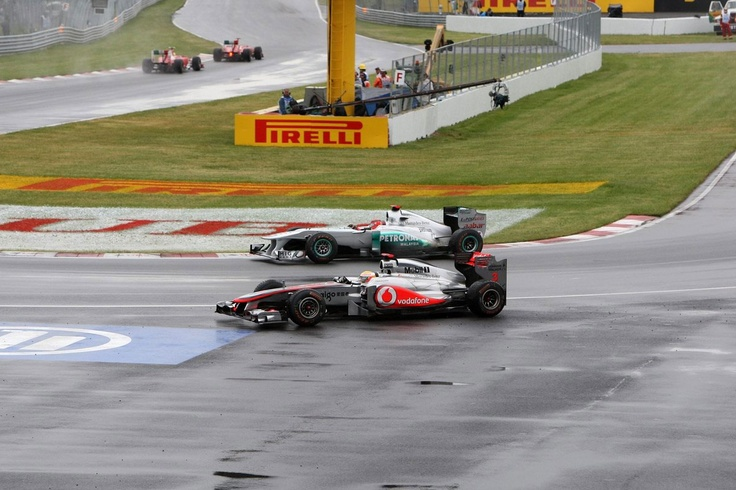 Canadian GP, Montreal Circuit - Race.  F1
