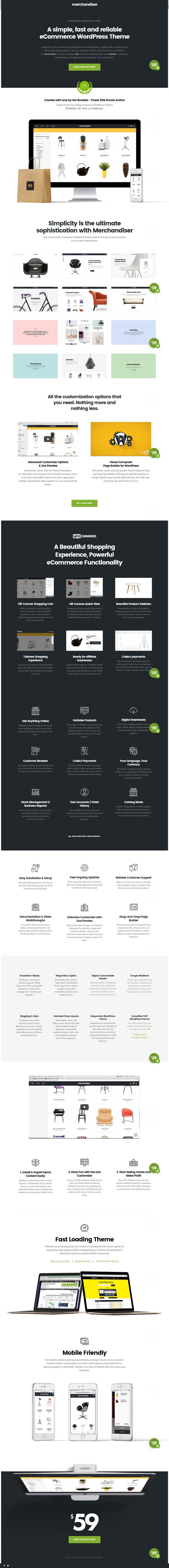 Meet Merchandiser, the best newcomer WordPress eCommerce theme of 2016! http://themeforest.net/item/merchandiser-ecommerce-wordpress-theme-for-woocommerce/15791151 #ecommerce #design #minimalism #wordpress #templates #themes #webdesign