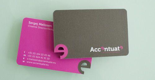 Business Card AccentuateAccentuate Business, Creative Business Cards, Business Card Design, Graphicdesign, Businesscarddesign, Graphics Design, Brand, Die Cut Cards, Business Cards Design