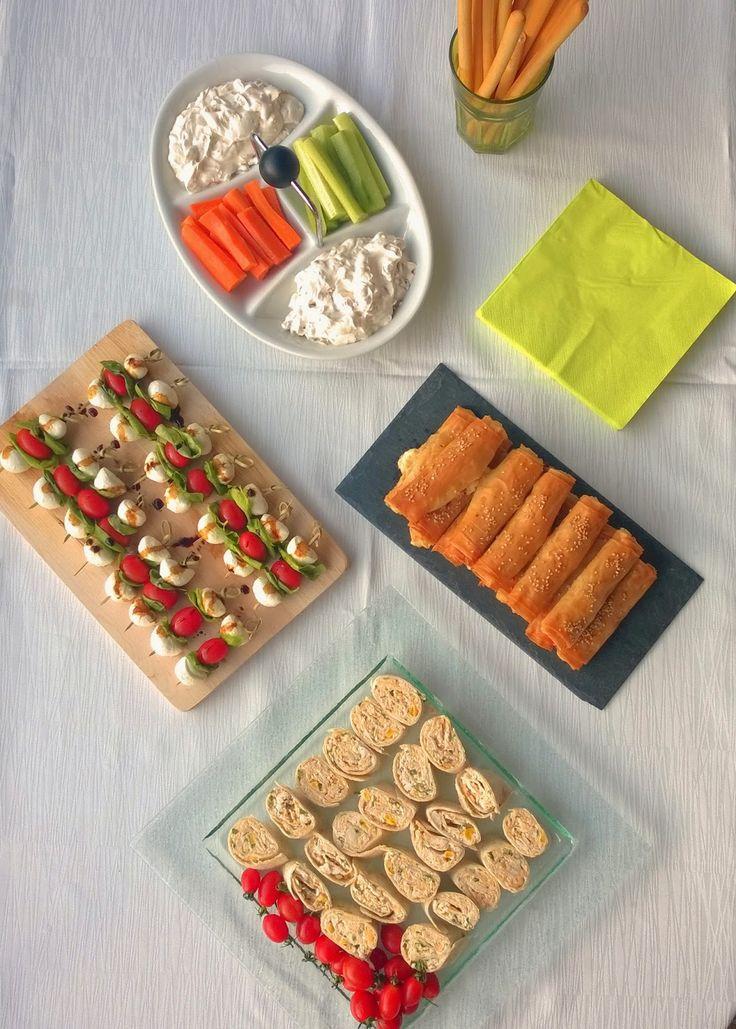 Μικρός μπουφές με finger food για τον τελικό του Μουντιάλ (και όχι μόνο...) - Finger food buffet