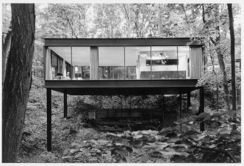 James Speyer, a protege of Mies van der Rohe. 1953. In the movie 'Ferris Bueller's Day Off'