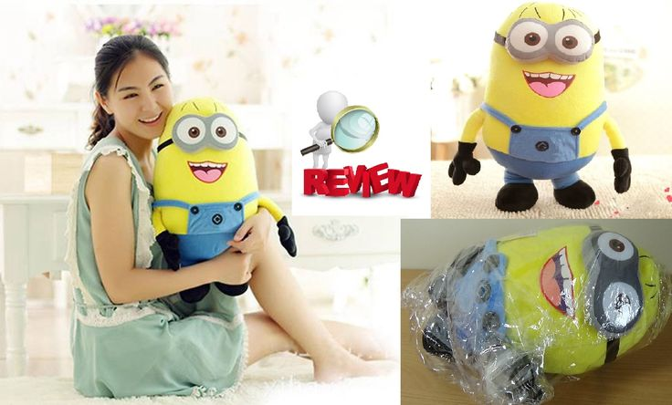 "Aliexpress Ebay Haul For Kid 10"" Jorge Despicable Me 2 Plush Soft Toy Mi..."