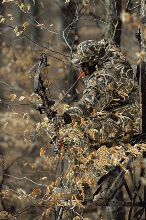 Hilarious because my husband has recently gotten into bow hunting... must show him this picture!