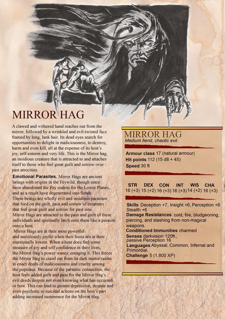 Mirror Hag MM Description page 1