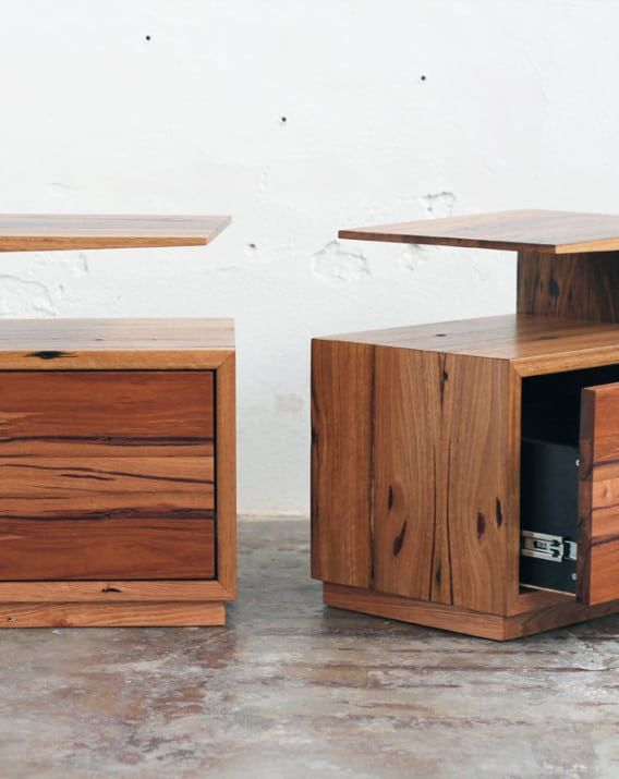 De Vine Side Table - Recycled Timber Furniture Melbourne, Yard Furniture