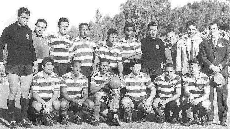 Sporting Clube de Portugal team that wins the Portugal Cup in 1093 / Equipa do Sporting Clube de Portugal que venceu a Taça de Portugal em 1963