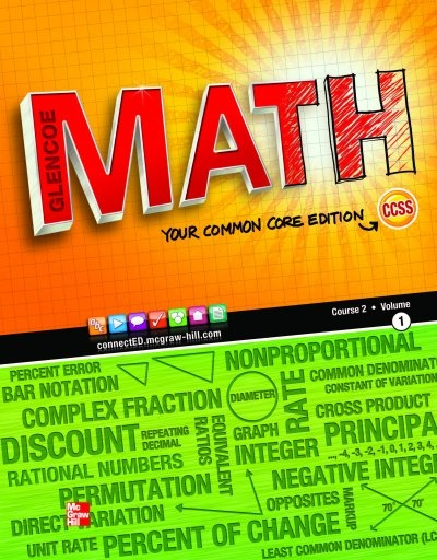 Solutions to Glencoe MATH Course 2 (Volume 2