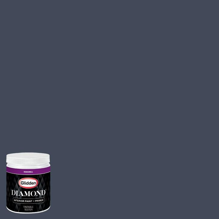 Glidden Premium 8 oz. #BB-186B St. Louis Cardinals Midnight Navy Eggshell Interior Paint with Primer
