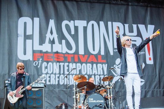The Charlatans play 'nice surprise' set to open day one of Glastonbury 2015