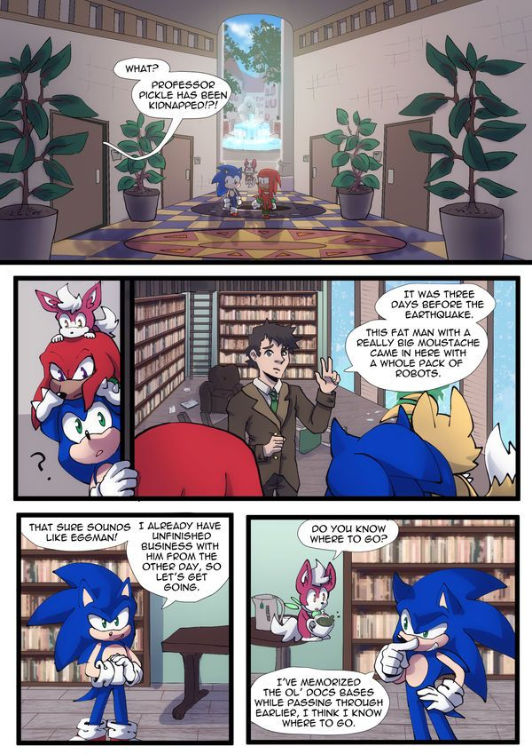 Pin On Sonic Comics