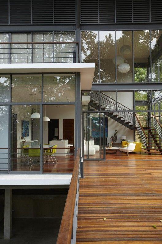 Best 25+ Steel house ideas on Pinterest | Open plan baths, Prefab ...