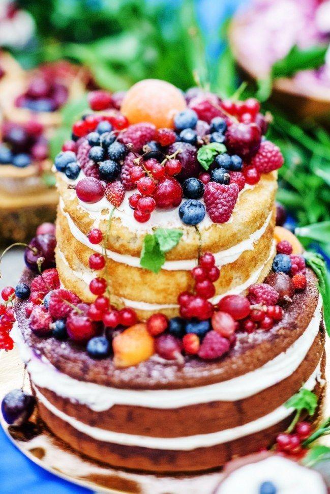 Naked Cakes sind die Trend-Hochzeitstorten 2017