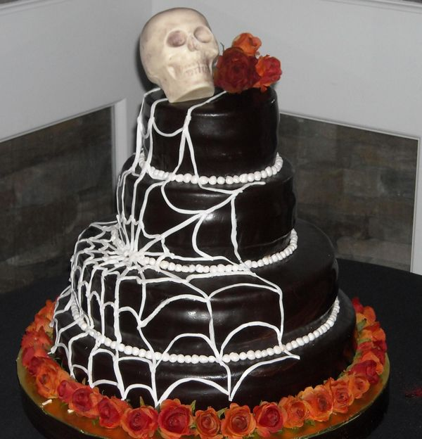 Halloween Wedding Cakes | Halloween Themed Wedding Cake Part 48