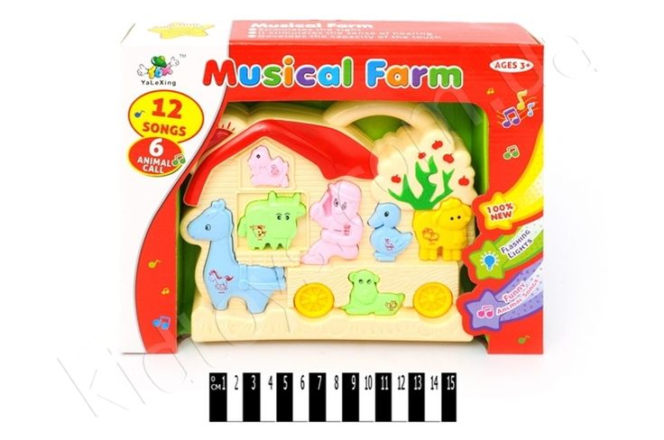 Піаніно (музична ферма) 006-1, игрушки черепашки ниндзя, игрушки из мультиков, недорогой детский интернет магазин, пошив мягкой игрушки своими руками, конструктор детский купить, бесплатный игры онлайн