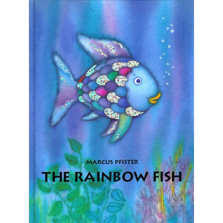 RAINBOW FISH BIG BOOK this would be such a cute idea for a cake! I love it!