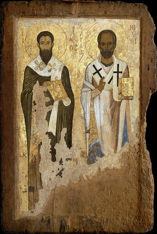St. Basil the Great and St. Nicholas, about 1045/1050 AD