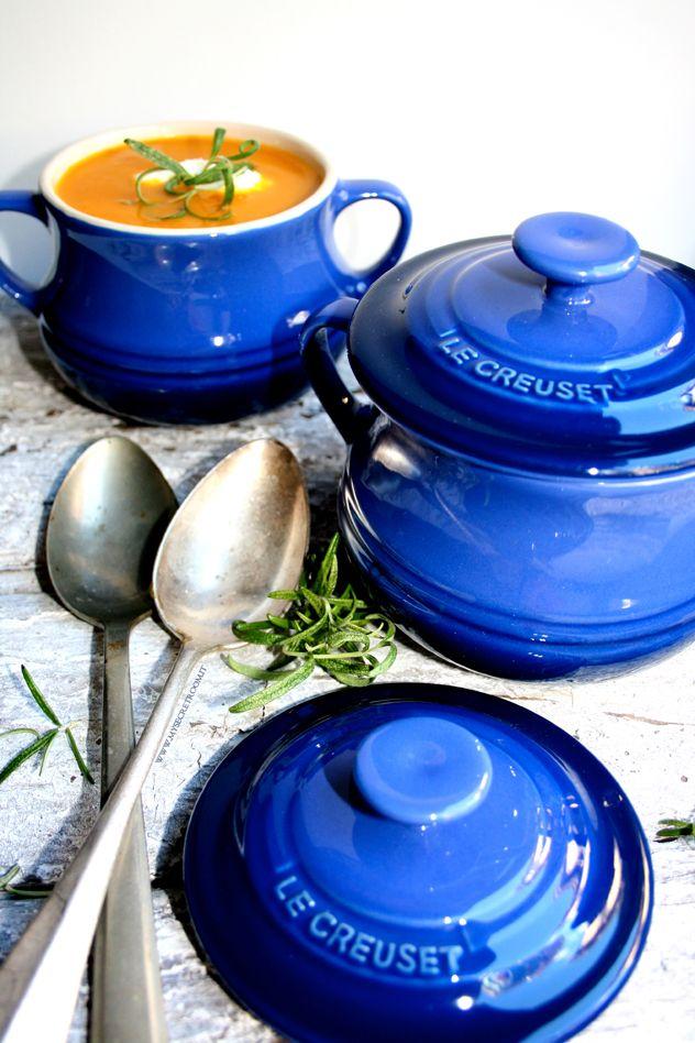 vellutata di zucca con quenelles di ricotta Seirass ricetta - recipe www.mysecretroom.it