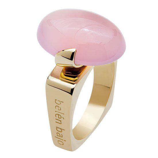 Like a pink sugar frosting on the most delicate cupcake. #rosequartz #cocktail rings #pink