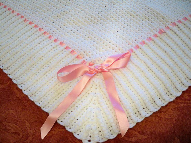Toquilla para bebe   Crochet   Pinterest