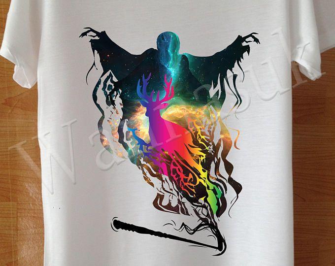 Festival T-Shirt Damen, Hogwarts Alumni Kleidung Herren, individuelle handgefertigte Bildschirm Druck weiß Ravenclaw Kleidung Herren, Hufflepuff Männer T-Shirt