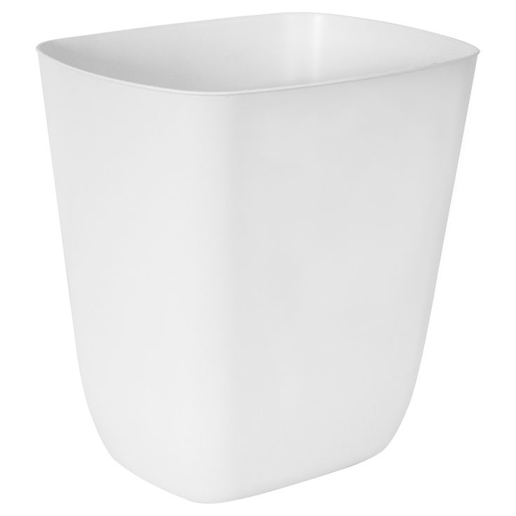 Manage waste with ease, with the Hefty 3 Gal. Open Top Wastebasket. This wastecan makes trash disposal quick and convient. The shape is well considered for small spaces, such as college dorm rooms, home bath, home laundry and home office areas.
