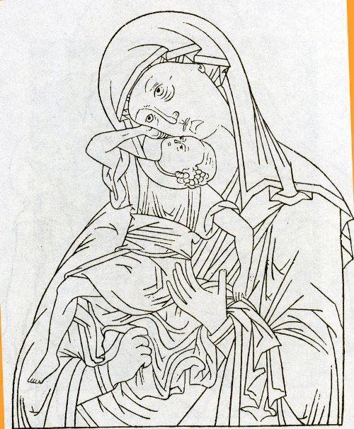Mother of God cartoon