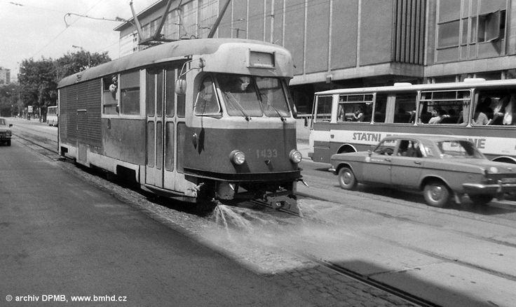 Fotogalerie » Tatra T2 1433 | Brno | střed | Rooseveltova