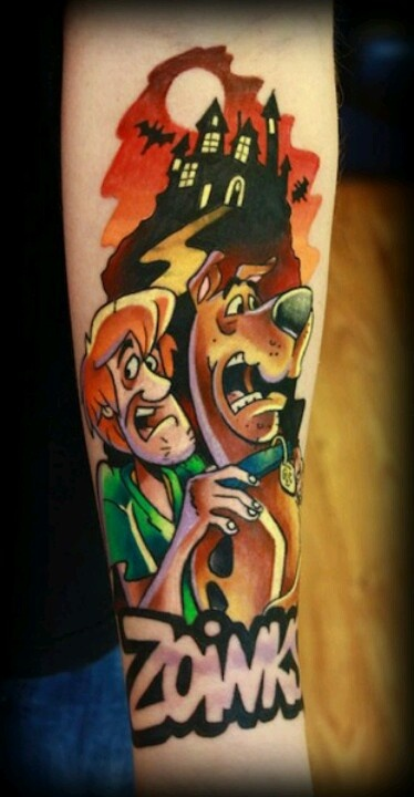 11 sensational scooby doo tattoo designs