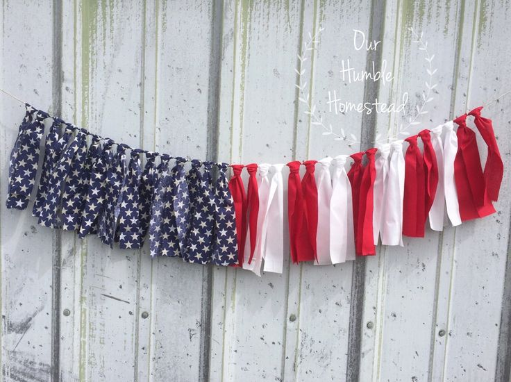 American Flag Fabric Banner - Red, White, and Blue, Patriotic, Home Decor, Photo Prop, Fabric Bunting by OurHumbleHomestead on Etsy https://www.etsy.com/listing/281089916/american-flag-fabric-banner-red-white