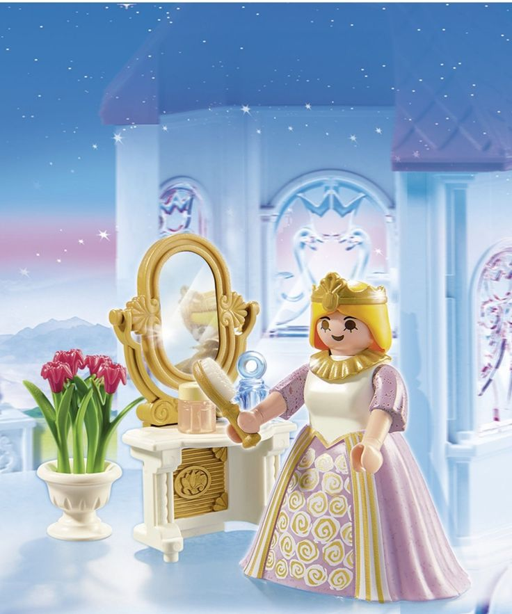 playmobil princess with vanity station