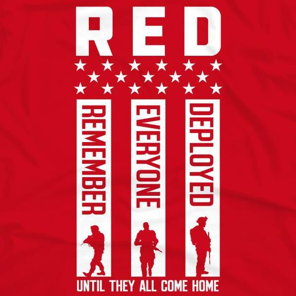 Red Friday Remember Them This Labor Day Holiday Weekend While You