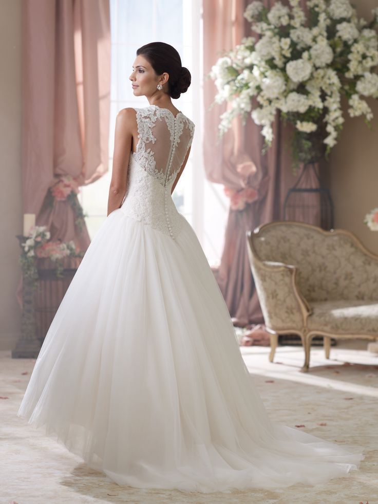 style no 114294 david tutera for mon cheri wedding
