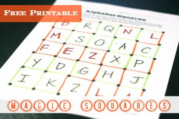 A must repin! Free printable game that's a simple, addictively fun way