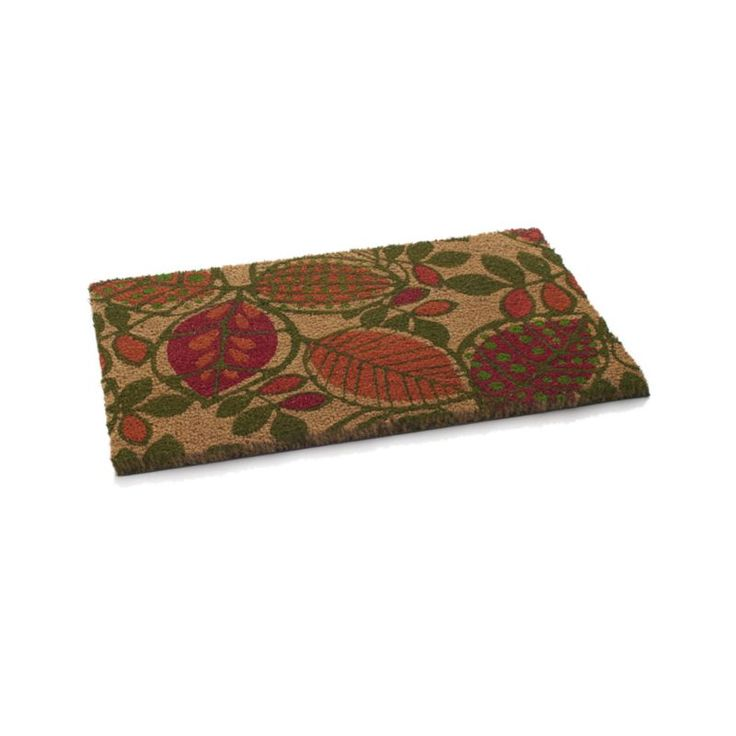 leaves doormat crate and barrel donu0027t know if it has skid