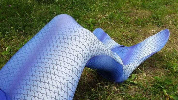 Me in blue mermaid tail