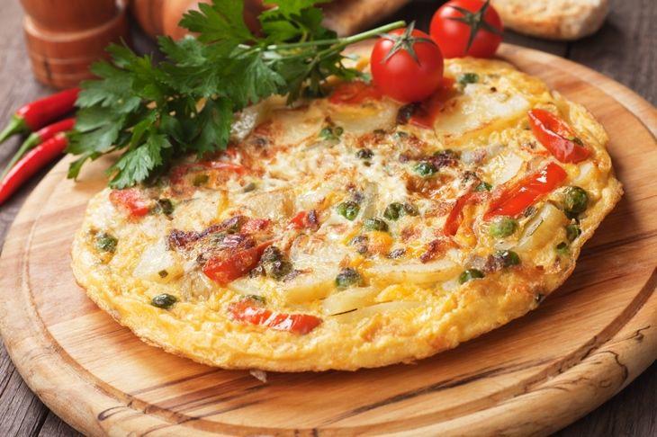 Postaram się również dzisiaj SAMODZIELNIE wykonać takiego omleta! :)