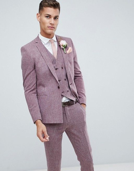 f7ed03fdaf Get-Ups for the Groom: Our Favorite Suits with a Pop of Color! Green  Wedding Shoes | Modern Hipster Stylish Groom | Lavender Purple Suit