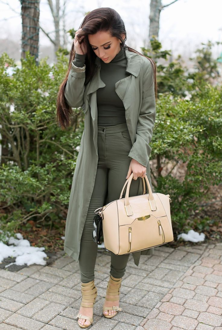 Monochrome | Khaki | the Beauty Bybel