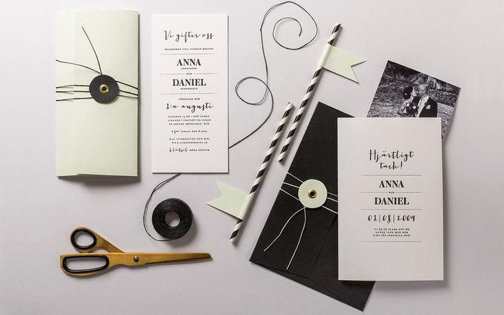Bröllop | Letterpress - Cecilia Börjesson
