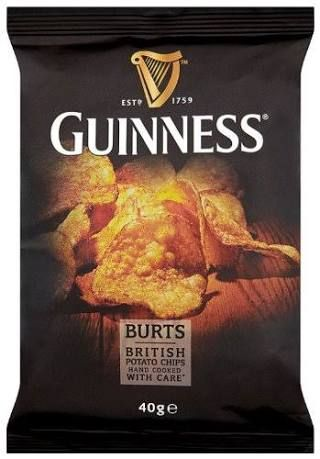Burts Guinness Potato Chips 40 G Pack Of Whether In The Pub Gathered On Sofa For Your Saturday Night TV Fix Or Round At Mates Weekend