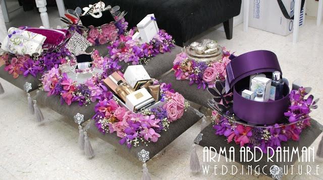 ~ DIY Bunga Tisu : Hiasan Hantaran ~