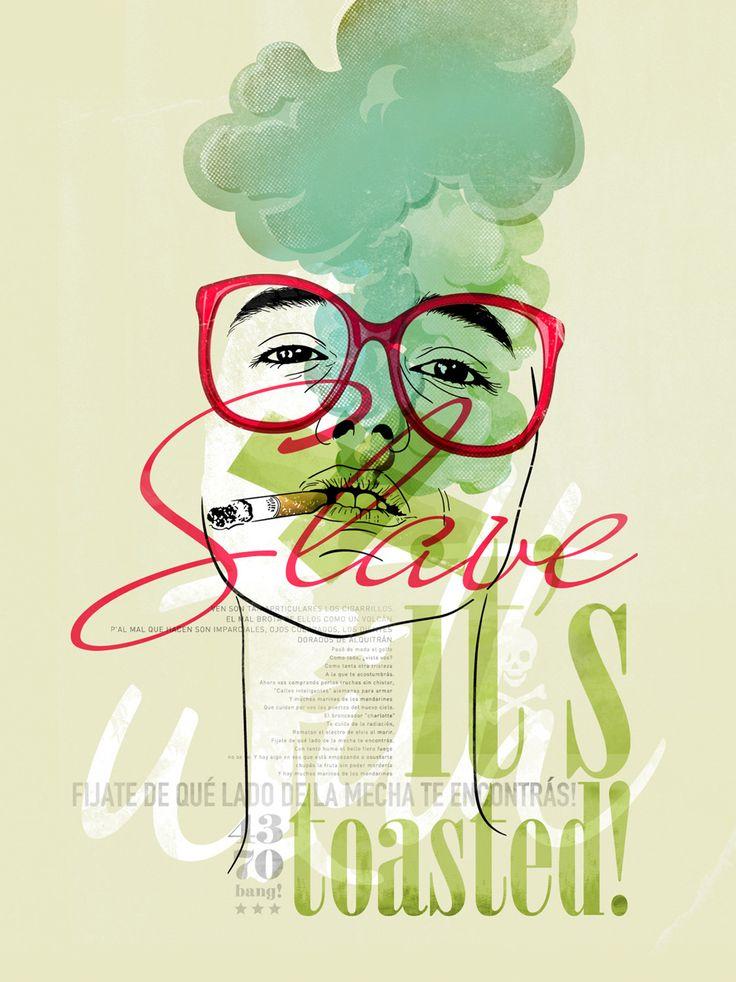 Juego de colores, formas, trazados y letras. Una buena selección de posters tipográficos que pueden servir de inspiración