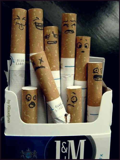 need to do this to someones pack of cigs