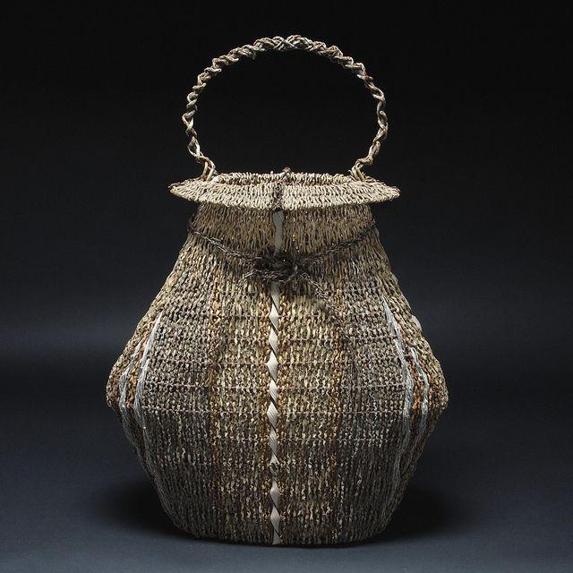 Basket Art By Samuel Yao : Best images about fiber art basketry on