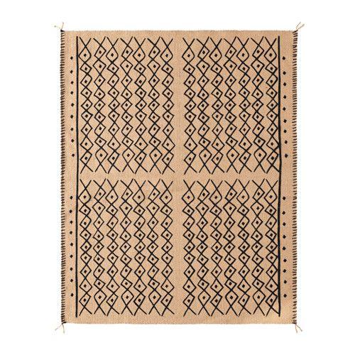 IKEA - JASSA, Alfombra, El yute es un material duradero y reciclable que presenta variaciones naturales en el color.