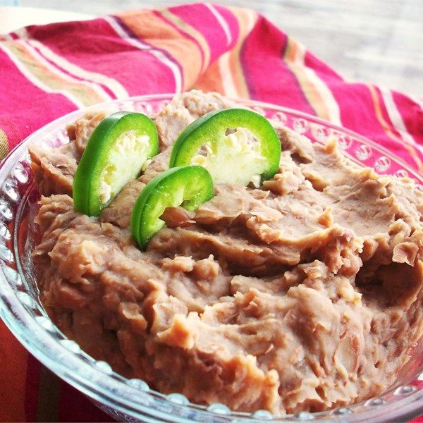 """Refried Beans Without the Refry   """"I make refried beans all the time and I thought I had my recipe down, but I have to say that though more simple with less ingredients than my own, these beans are THE BEST!"""""""