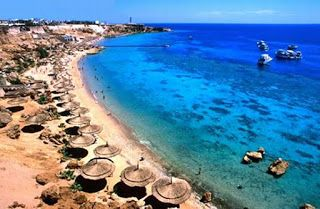 Landscape: Beaches in Egypt